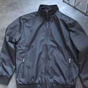 Black Men's Nylon Jacket